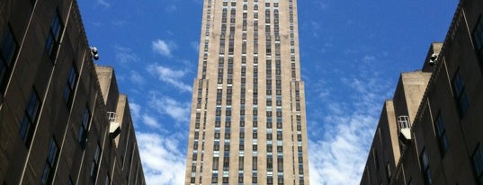 Rockefeller Center is one of Recommendations from Friends!.