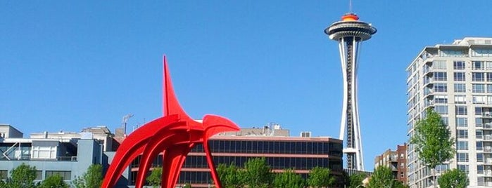 Olympic Sculpture Park is one of Seattle!.