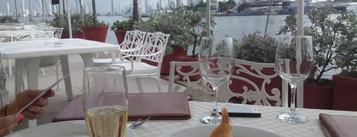 Restaurante  Club de Pesca is one of Cartagena.