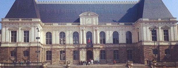 Place du Parlement de Bretagne is one of Rennes.