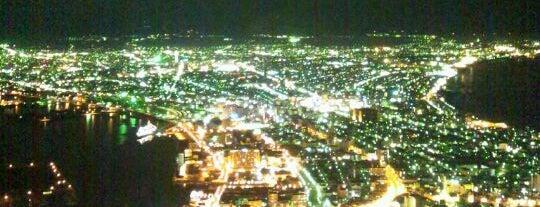函館山展望台 is one of 日本夜景遺産.