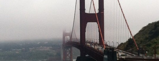 Vista Point is one of 101 places to see in San Francisco before you die.