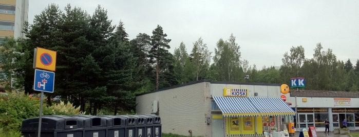 Vantaanpuiston ostoskeskus is one of Ostarit.