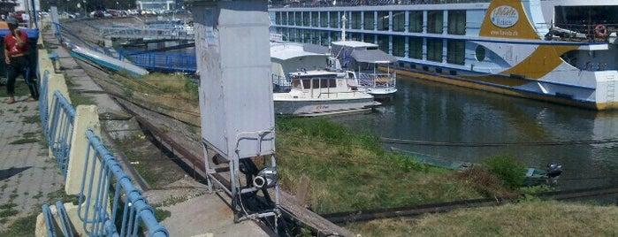 Portul Tulcea is one of Tempat yang Disimpan George.