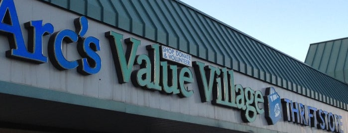 Arc's Value Village is one of All The Places I Can Think of That I've been.