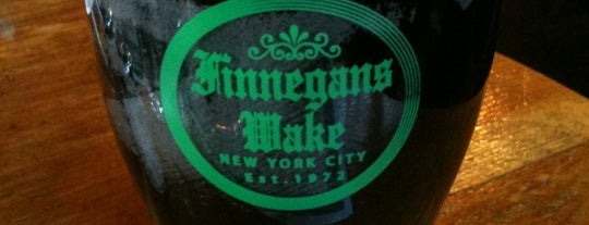 Finnegans Wake is one of Tempat yang Disukai Mark.