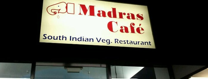 Madras Cafe is one of Locais curtidos por Rahul.