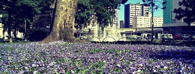 Praças de Curitiba