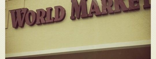 World Market is one of Orte, die Clark gefallen.