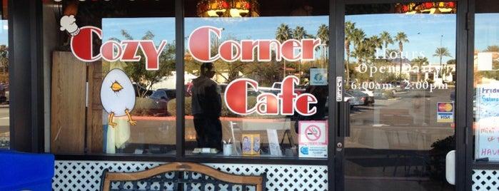 Cozy Corner Cafe is one of Locais salvos de Josh.