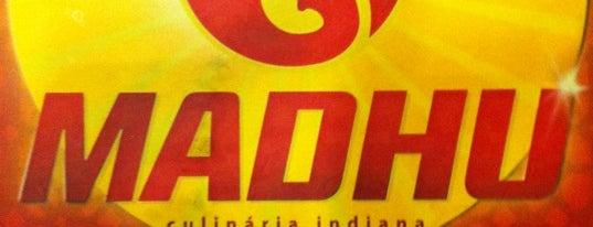 Madhu is one of Alguns lugares que eu adoro.