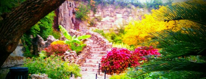 Japanese Tea Gardens is one of Historic San Antonio.