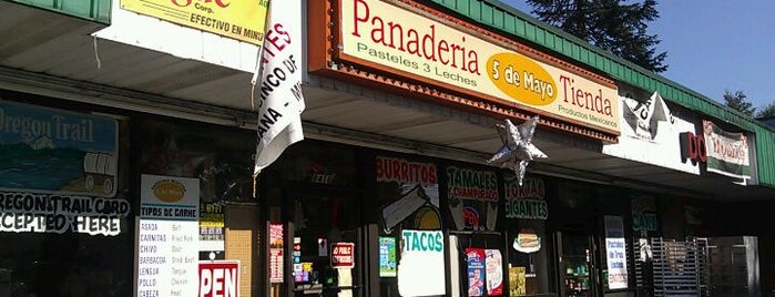 Panaderia Mexicana Cinco de Mayo is one of Mele's Liked Places.