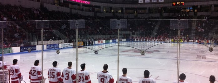 Agganis Arena is one of Massachusetts.