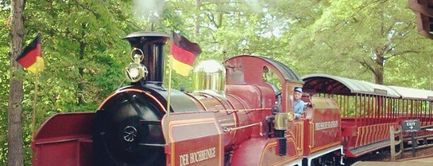 Tweedside Train Station - Busch Gardens is one of Going Traveling!.