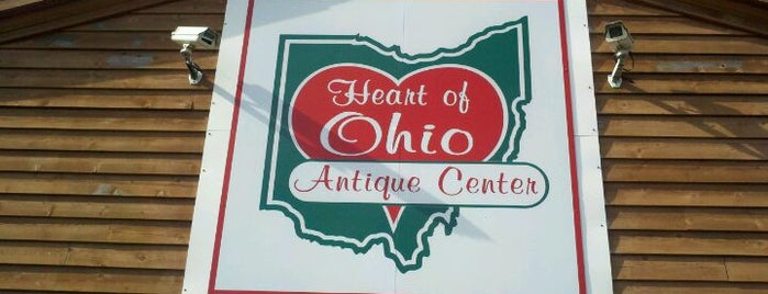 Heart of Ohio Antique Center is one of Antique/Vintage Shops.
