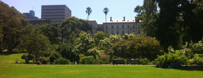 Treasury Gardens is one of Parks & Gardens.