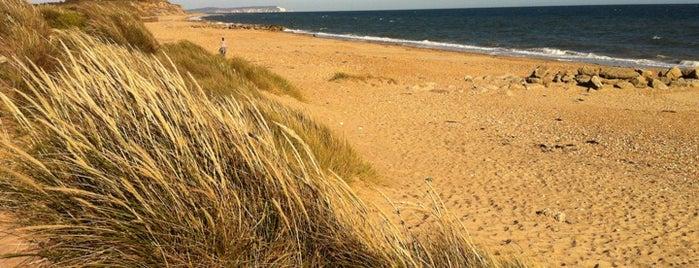 Hengistbury Beach is one of The UK's Best Sandy Beaches.