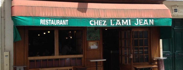 L'Ami Jean is one of The BEST wine restaurants in Paris.