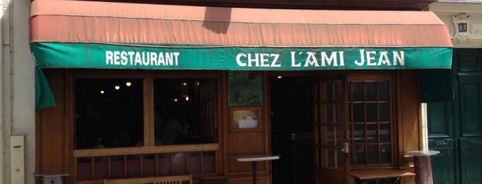 L'Ami Jean is one of Paris Restaurants.