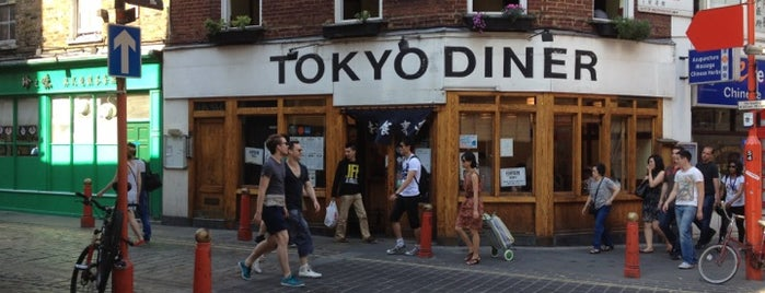 Tokyo Diner is one of blighty sights.
