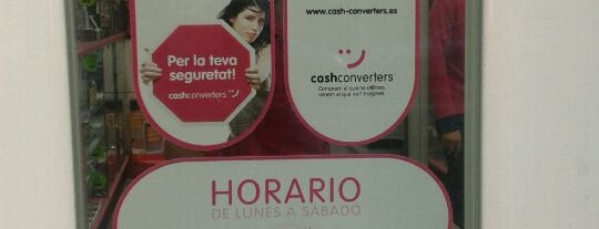 Cash Converters is one of Ofertas de Trabajo Comercios Barcelona.