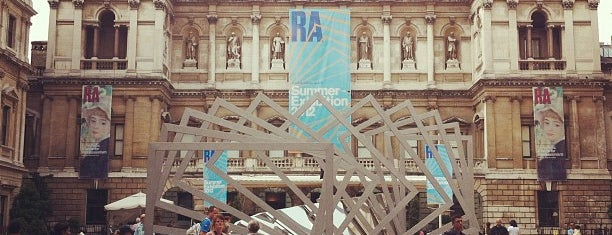 Royal Academy of Arts is one of London Favorites.