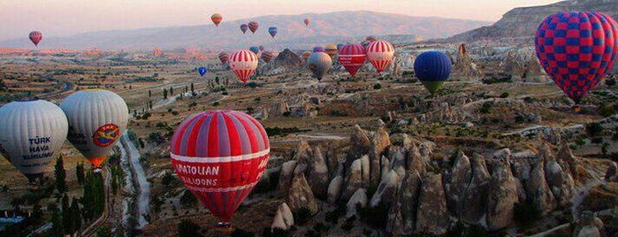 Kapadokya is one of Turkey - Cappadocia.