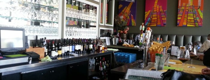 Wine Exchange Bistro and Wine Bar is one of My wine's spots.