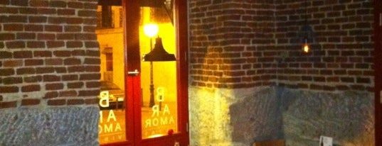 Bar Amor is one of Comilona y copeteo en Madrid.