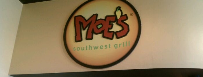 Moe's Southwest Grill is one of Unique's Liked Places.