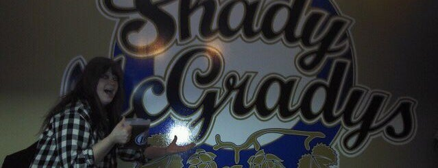 Shady McGrady's is one of Drink beer here.