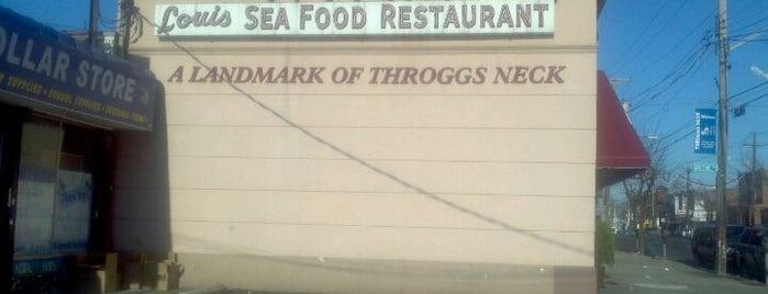 Louis Seafood is one of MISSLISA 님이 저장한 장소.