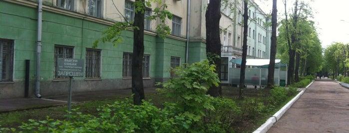 БНТУ корпус 18 ФММП is one of Учёба.