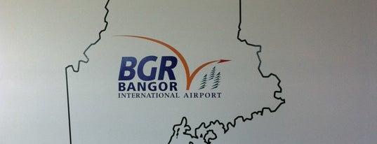 Bangor International Airport (BGR) is one of Free WiFi Airports 2.