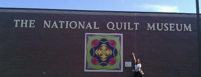 The National Quilt Museum is one of Places I've been.