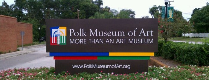 Polk Museum Of Art is one of FL places I want to visit.