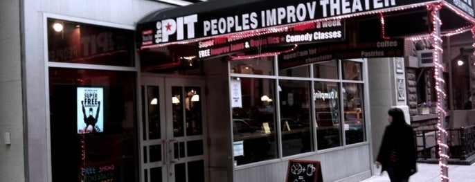 The Peoples Improv Theater is one of New York's Best Entertainment - 2012.