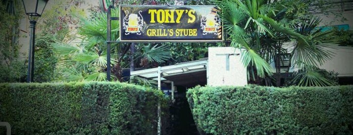 Tony's Grill Stube is one of MADRID ★ Hamburguesas ★.