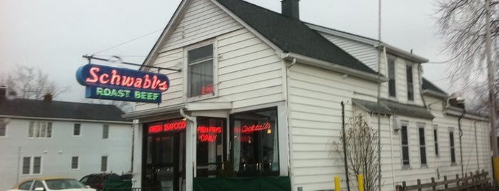 Schwabl's is one of Diners Drive-Ins and Dives & Roadfood.