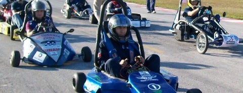 Go Kart's is one of Cancún's Sports.