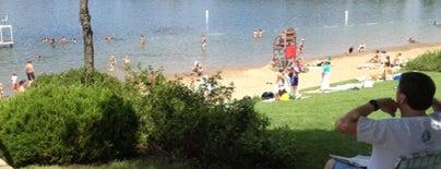 Shady Oak Beach is one of Tempat yang Disimpan Brooke.