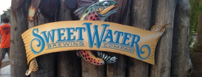 SweetWater Brewing Company is one of #416by416 4sqDay List 1.