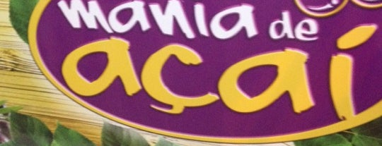 Mania de Açaí is one of Locais curtidos por Augusto.