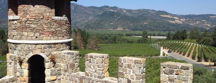 Castello di Amorosa is one of Film. Food. Wine..