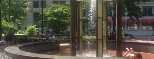 Norman B. Leventhal Park is one of Boston.