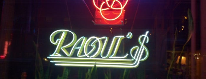 Raoul's Restaurant is one of eat me.