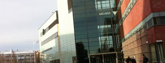 Arcada University of Applied Sciences is one of Frequent.
