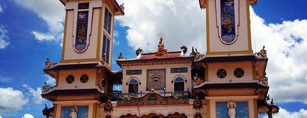 Tòa Thánh Cao Đài is one of vietnam.