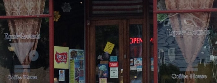 Equal Grounds Coffeeshop & Books is one of LGBTQ+ Spaces & Places in Rochester, NY.
